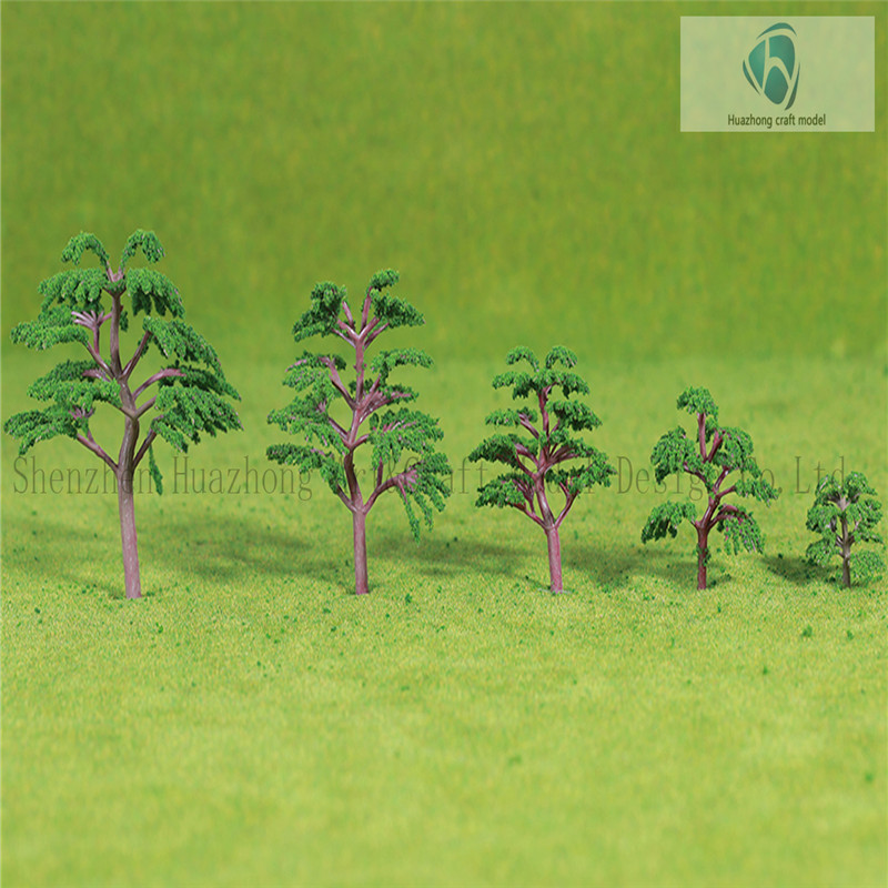 plastic scale Model Tree -Deciduous Artificial Tree for Architectural Model P11