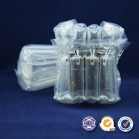 Promotion custom made factory shockproof bubble bag Inflatable Air Bags for glass bottle