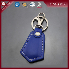 High quality leather keyring with logo embossing