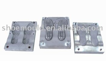 High Quality TR Injection shoe sole Mould Used for TR Maingroup Machine for making TR Casual Shoe