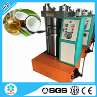 Cold press small scale coconut oil machine