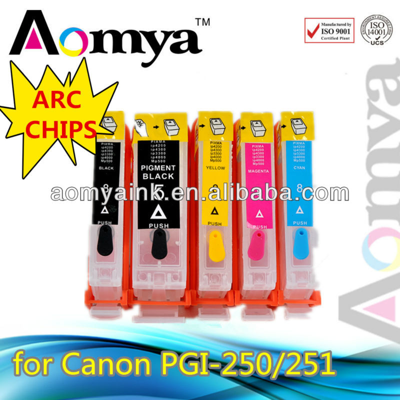 ciss cartridge/ refil cartridge for Canon PGI250/CLI251 Pixma MX922 MG6320 MG5420 iP7220 MG6320 Printer