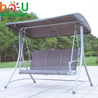 Leisurely garden swing, outdoor hanging swing chair with canopy