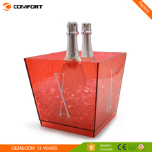 Branded square champagne beer 10l ice bucket