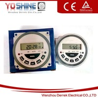 Frontier Digital Timer, Weekly Programmable Time Switch TM-619 30A with Panel Mounted Installation
