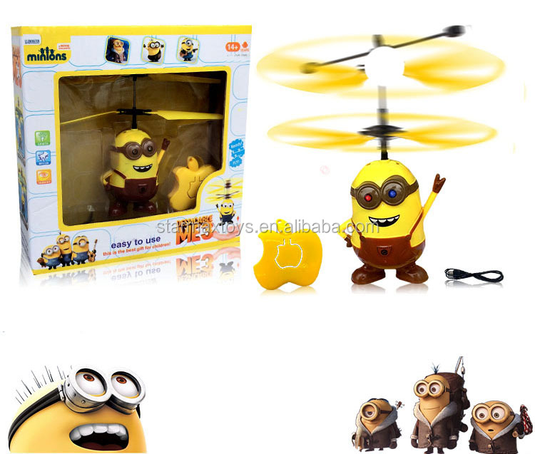 Intelligent Minion Reaction Rc Helicopter Toys