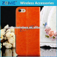 Alibaba Express New Products 2015 Innovative HOT For iPhone 5C Flip Stand Mobile Phone Leather Case