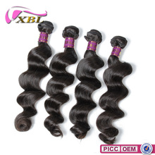 2015 XBL New Arrival Double Layers Virgin Brazilian Human Hair Sew In Weave