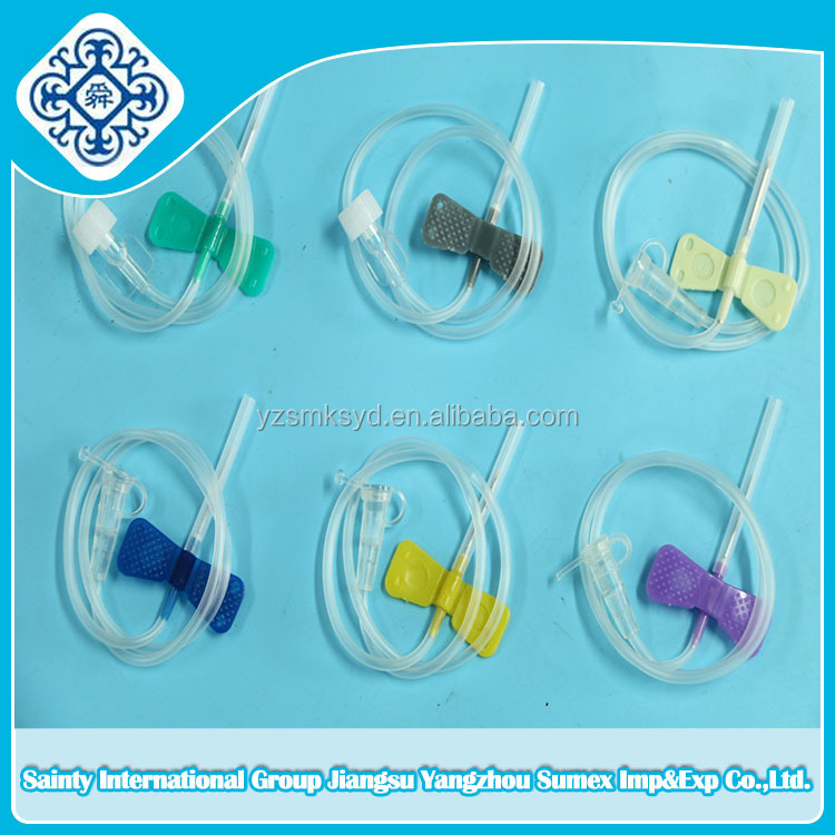 Disposable scalp vein set scalp vein butterfly needle