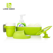Manufacturer Supplier pink bathroom accessories set