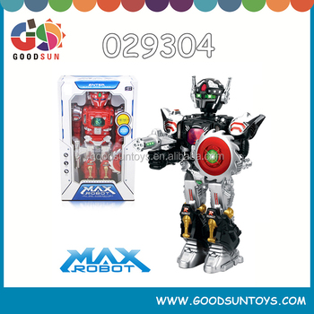 electrical big robot with light and music 360 degree rotation robotfun robot for adults 029304