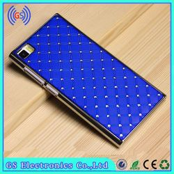 For Xiaomi Note Case Luxury Bling Diamond PC Hard Case,China Manufacture Paypal Accept