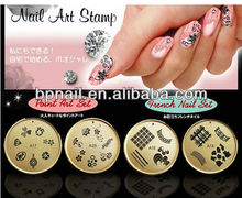 Professional Polish Nail DIY Design Nail Art Stamp Stamping Printer