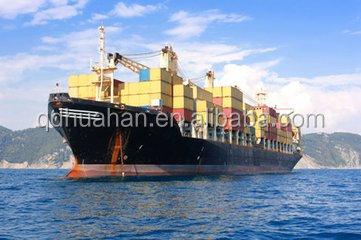 sea freight charges china to india with shipping agent and warehouse service
