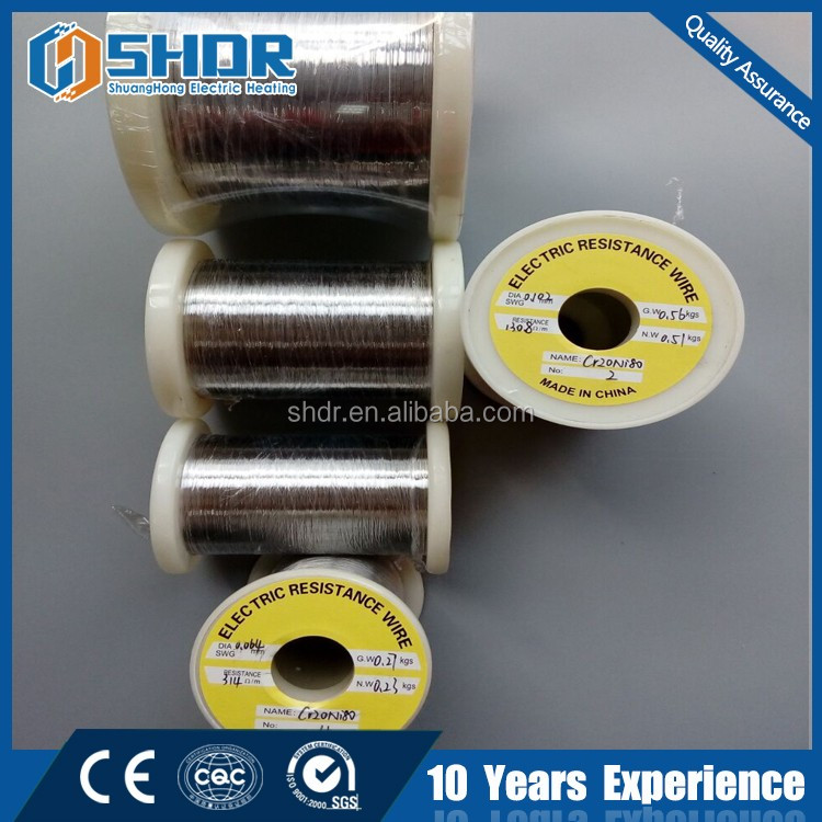 Nichrome Heat high electric Resistance Wire Ni60Cr15