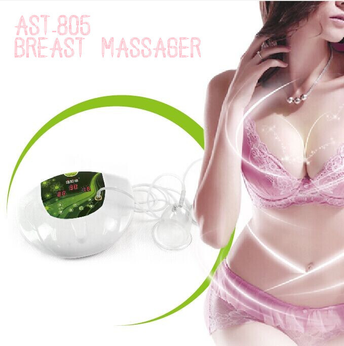 2015 New hot produce vibration breast enlarge massager sexy hot massage AST-3012(CE&Rohs Approved)