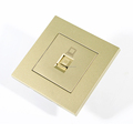 Residence and Hotel used champagne color Ethernet interface Ethernet Port