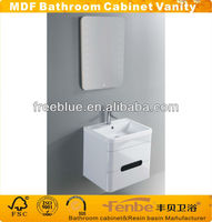 MDF bathroom cabinet wall hung unit /two drawers cabinet