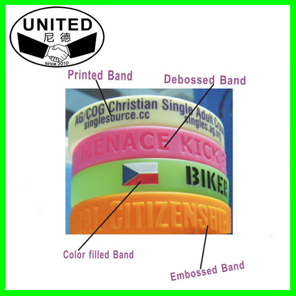 Personalized wrist band for promotion