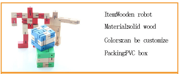 transforming robot toy made from solid wood, wooden tranforming robot toys