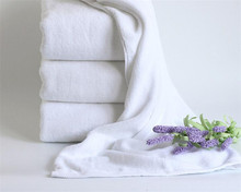 Thick and big 32s cotton hotel bath towel 70*140cm spa white bath hotel towel online