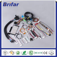 Universial customized home appliance/electrical appliance wire harness with white connector