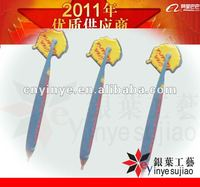 promotional rubber logo pen
