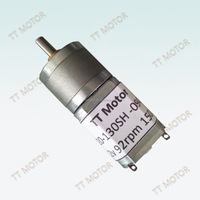 20mm high quality dc gear dish antenna motor with encoder