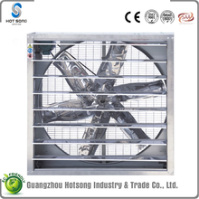 HS-1220 stainless steel belt driven automatic shutter roof mounted air cooling greenhouse exhaust fan 43""