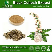 Medical Grade High Quality Black Cohosh P.E.,Black Cohosh P.E Powder.Nature Black Cohosh Extract