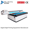 2017 LED UV Flatbed printer for glass,ceramic,wood,plastic,leather,PVC,KT board,factory supply