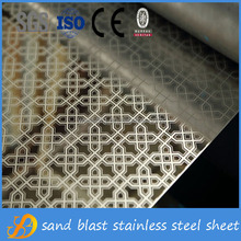 201 8K/Etching/Embossed Colored Stainless Steel Decorative Sheets