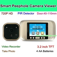 HD digital peephole camera door viewer ,Perfect video peephole door camera with lcd screen