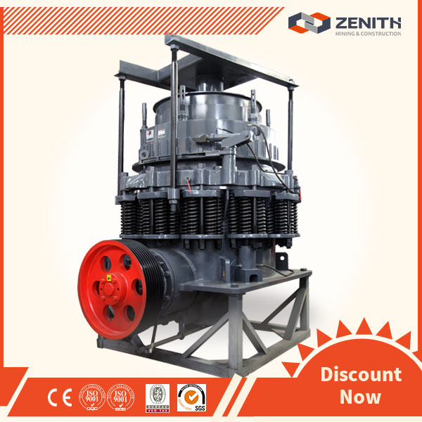 High performance symons cone stone crusher with CE Cetification