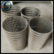 Reverse Wedge Wire Screen ,self -clean rolled wedge wire screen