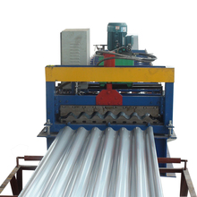 Color steel automatic corrugated sheet pasting machine