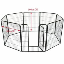 "40"" 8pcs Heavy duty pet playpen exercise pens"