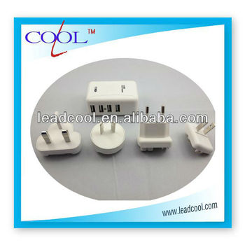 4 usb wall charger for iPad iPhone
