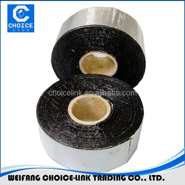 self adhesive waterproof bitumen roofing tape