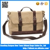Wholesale OEM/ODM high quality canvas bag laptop messenger bag for men