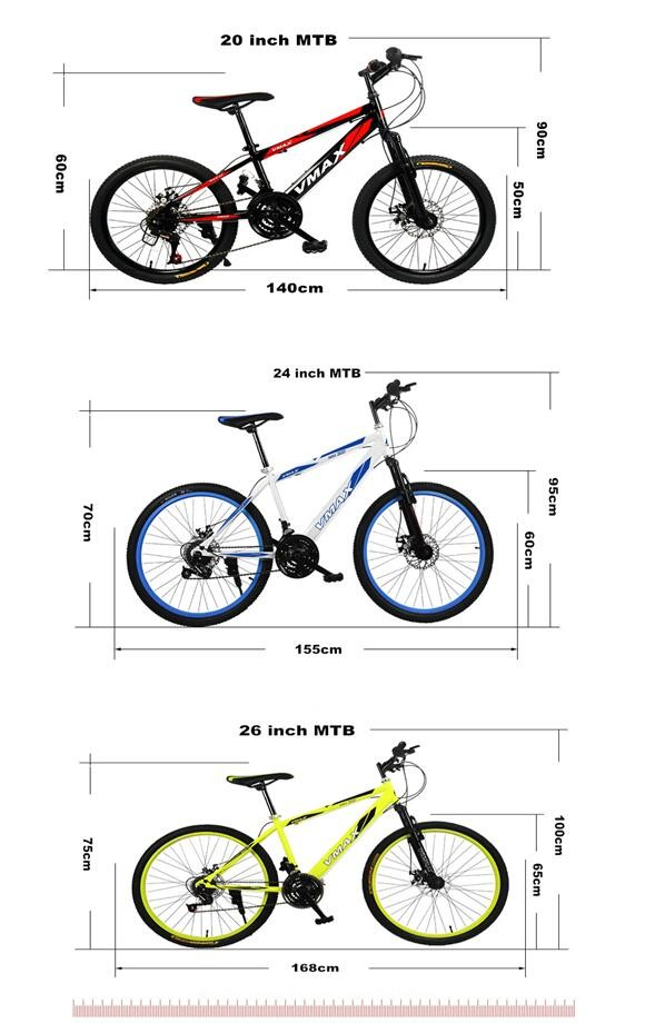 21speed 24inch bicycle 26inch mountain bike/MTB f/r suspension fork double disc brake for male and female mountain bicycle