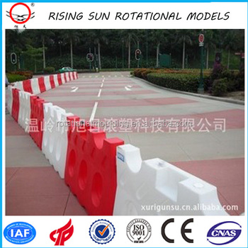 580*850mm rotational plastic with reflective traffic barrier