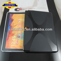 New 2014 Edition Slim Thin Leather Case X shape Cover For Samsung Galaxy Tab 3 10.1
