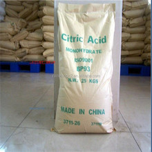 Food & Beverage Additives best price for bp98 citric acid anhydrous and citric acid