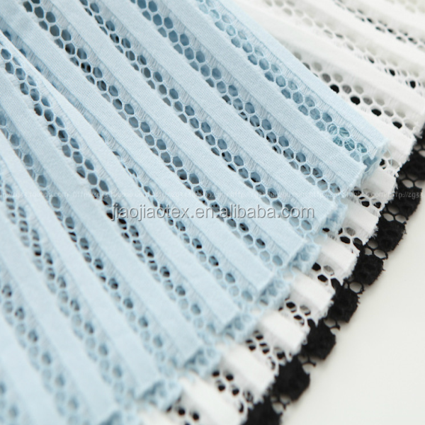 striped design spacer knitting wholesale china 3d air fabric mesh