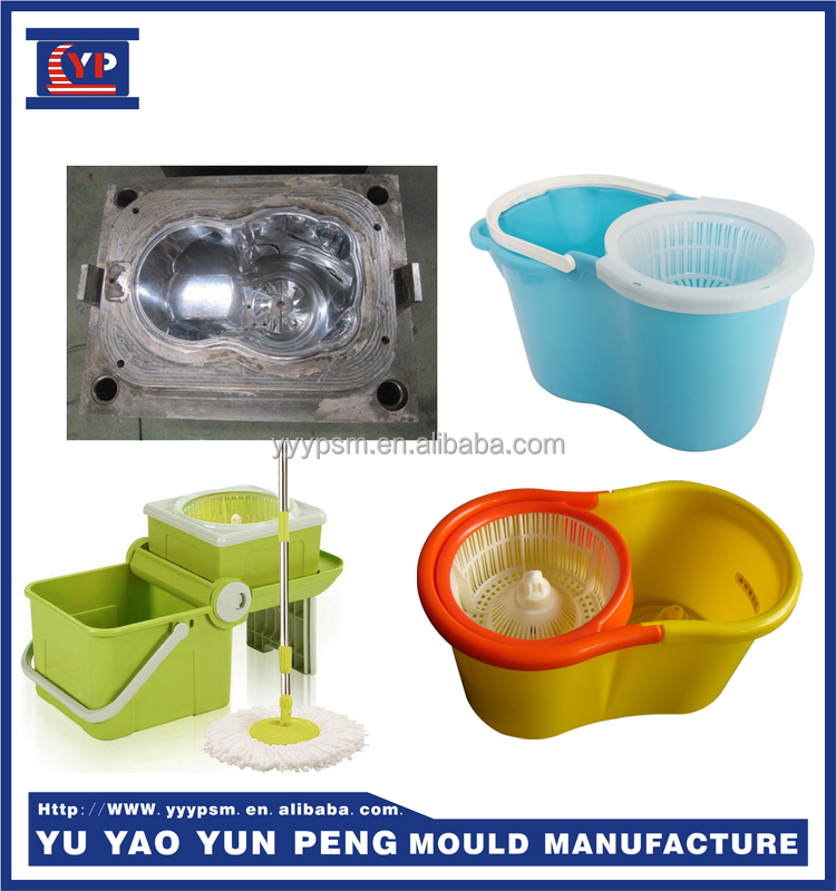 Yuyao Yunpeng 360 easy Degree Spin Mop Bucket Plastic Mould Plastic Injection Molding
