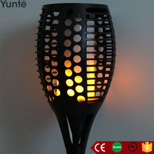 Yunte 2017 torch solar garden light led garden security light for driveway pathway