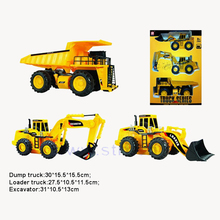 3 in 1 promotional toy free wheel mini construction truck