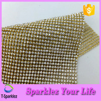 Bling Bling Rhinestone sheet Metal Flat Sheets Hot Fix Craft