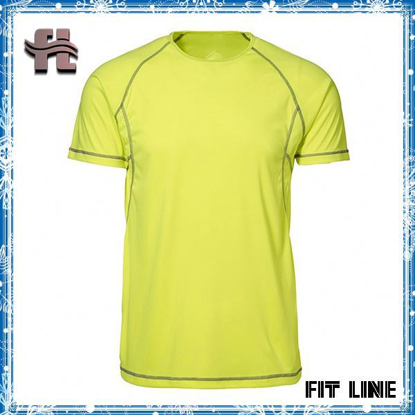 Hot selling neon green sports t shirts best quality neon for Sell custom t shirts online